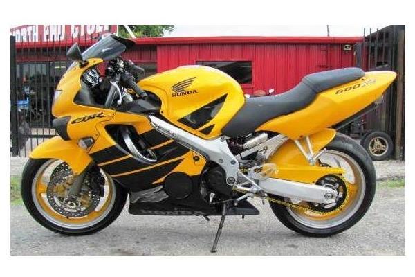 2000 Honda CBR600F4 Used Parts Motorcycle Honda Salvage